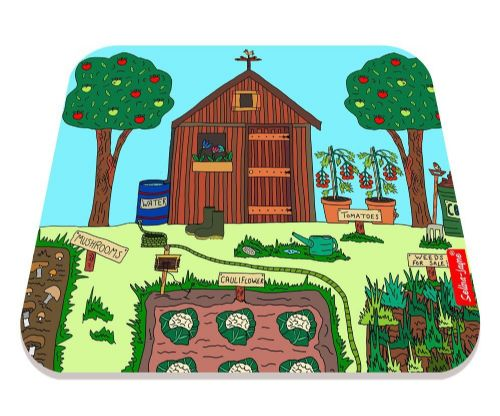 Selina-Jayne Allotment Limited Edition Designer Mouse Mat